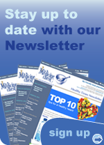 Stay up to date with our newsletter!